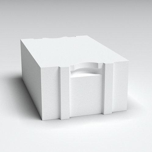 Блок  400 мм (автоклавный газобетон) Б4 (625*400*250) Д500/В2,5