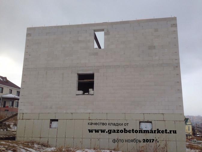 Не разрешайте строителям замазывать швы при ведении кладочных работ, чтобы видеть качество кладки!