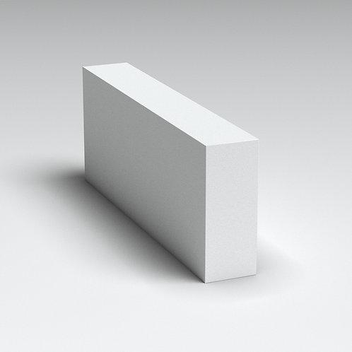 Блок 100мм перегородочный (автоклавный газобетон) Б1 (625*100*250) Д600/В2,5