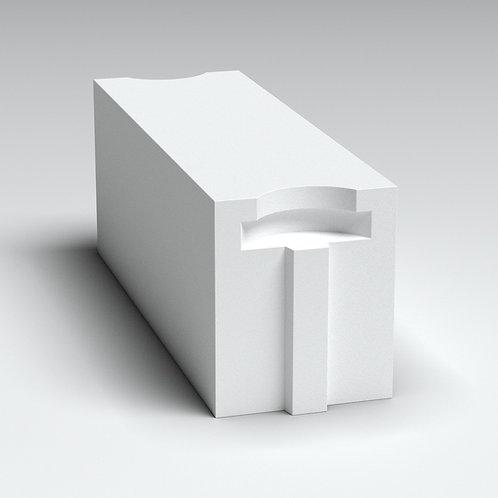 Блок 200 мм, стеновой (автоклавный газобетон)(625*200*250)Д600/В2,5