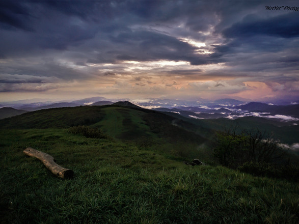 Big Bald Mountian TN Sunset #3