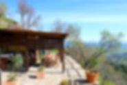 cottage per due vista mare
