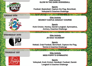 Abingdon Camp | February Timetable Released