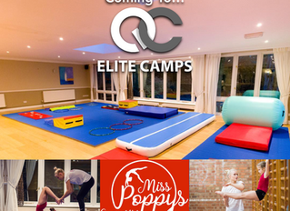 Miss Poppy's Gymnastics Are Coming To Elite Camps!