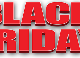 25% BLACK FRIDAY EVENT NOW ONLINE
