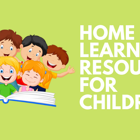 Home Learning Resources for Children