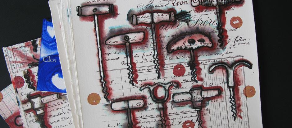 Livres d'art et sérigraphies inspirés par le vin