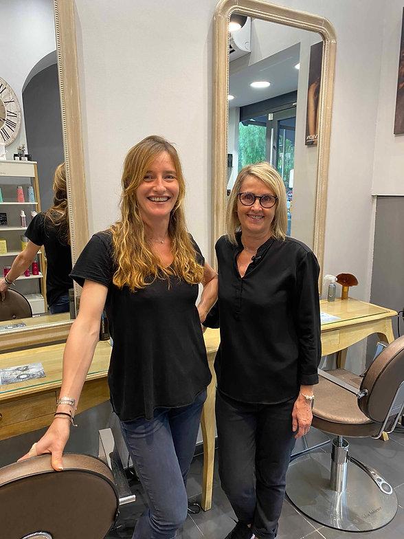 Salon de coiffure nice Le Nuancier Carole et Annie