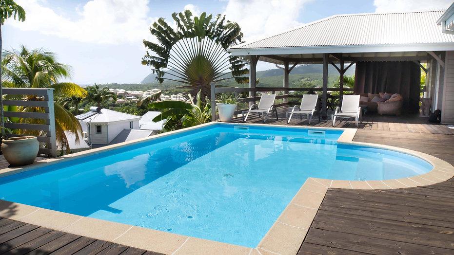 Villa Martiniquaise pour location saison