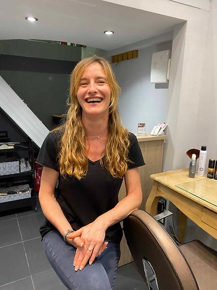 Salon de coiffure nice Le nuancier Carole
