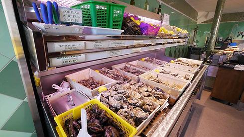 Astoux et Brun La boutique, huîtres, crustacés et coquillages