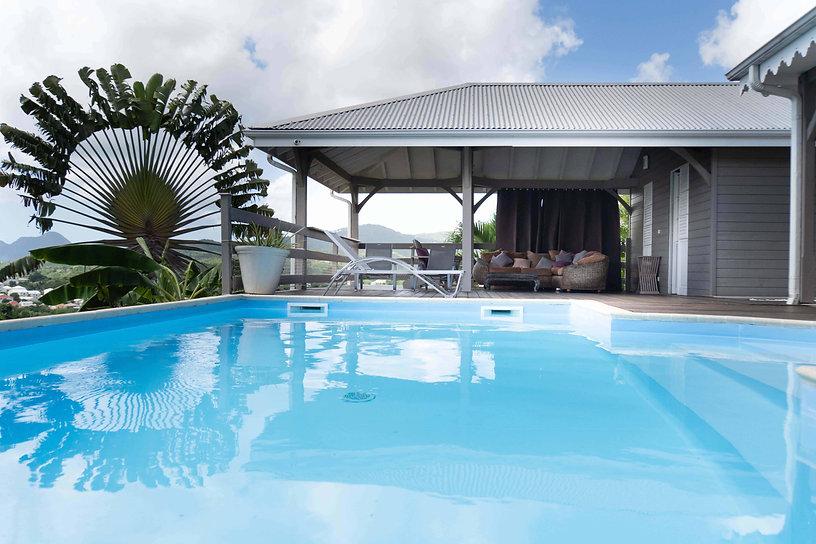 Villa Martiniquaise avec piscine