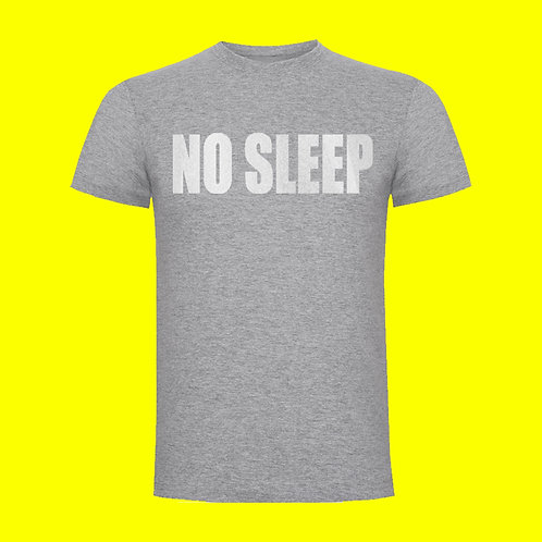 Camiseta NO SLEEP reflectante