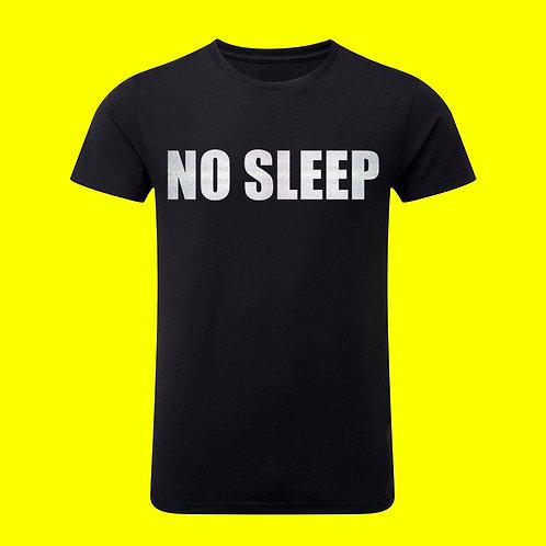 Camiseta NO SLEEP reflectance