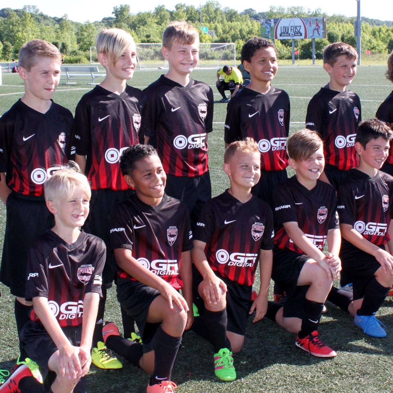 O'Fallon Fury Soccer Team_GFI Sponsored