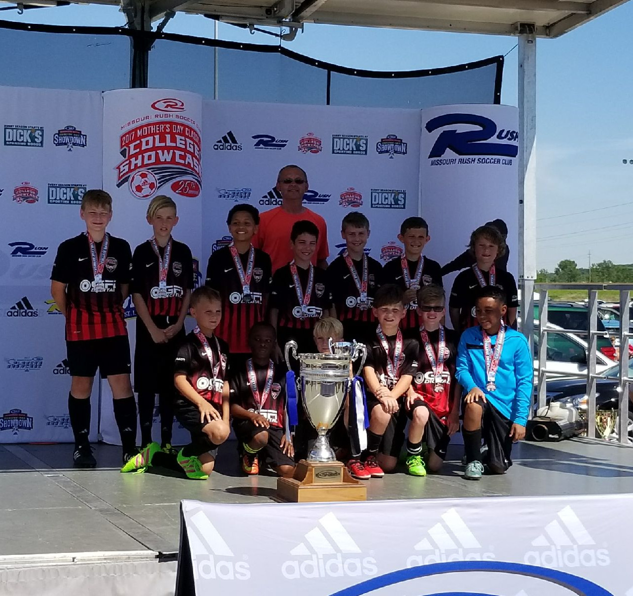 O'Fallon Fury Soccer Team 2nd place