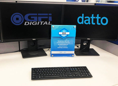 Datto Blue Support Award