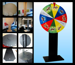 Custom spin wheel