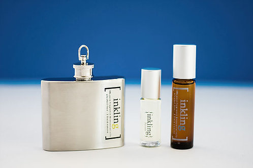 Fathom -exotic, refreshing, mint, lemon, cedarwood