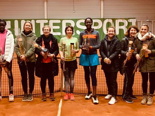 TMC Dames : une belle journée de tennis