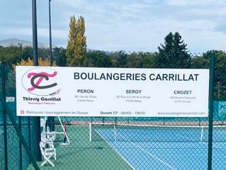 Merci à notre nouveau sponsor, les Boulangeries Carrillat
