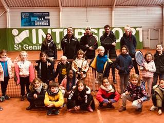 Le tennis scolaire, c'est super !