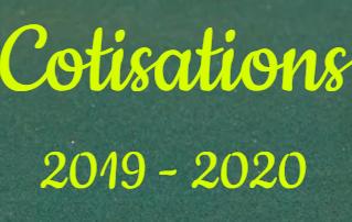 Les cotisations 2019-2020 sont  disponibles sur www.atp-m.fr