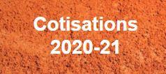 Les cotisations 2020-21 sont disponibles !
