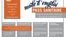 Pass sanitaire à partir du 9 août