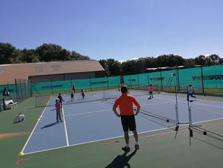 Ecole de tennis: C'est parti!