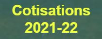 Cotisations 2021-22