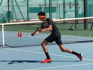 Mathis Seguin remporte le championnat de l'Ain 13-14 ans