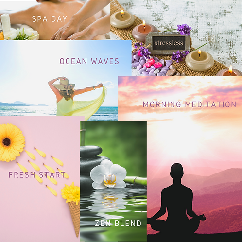 Relax Diffuser Card Collection