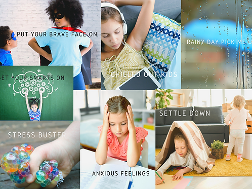 Kids Emotions Diffuser Card Collection