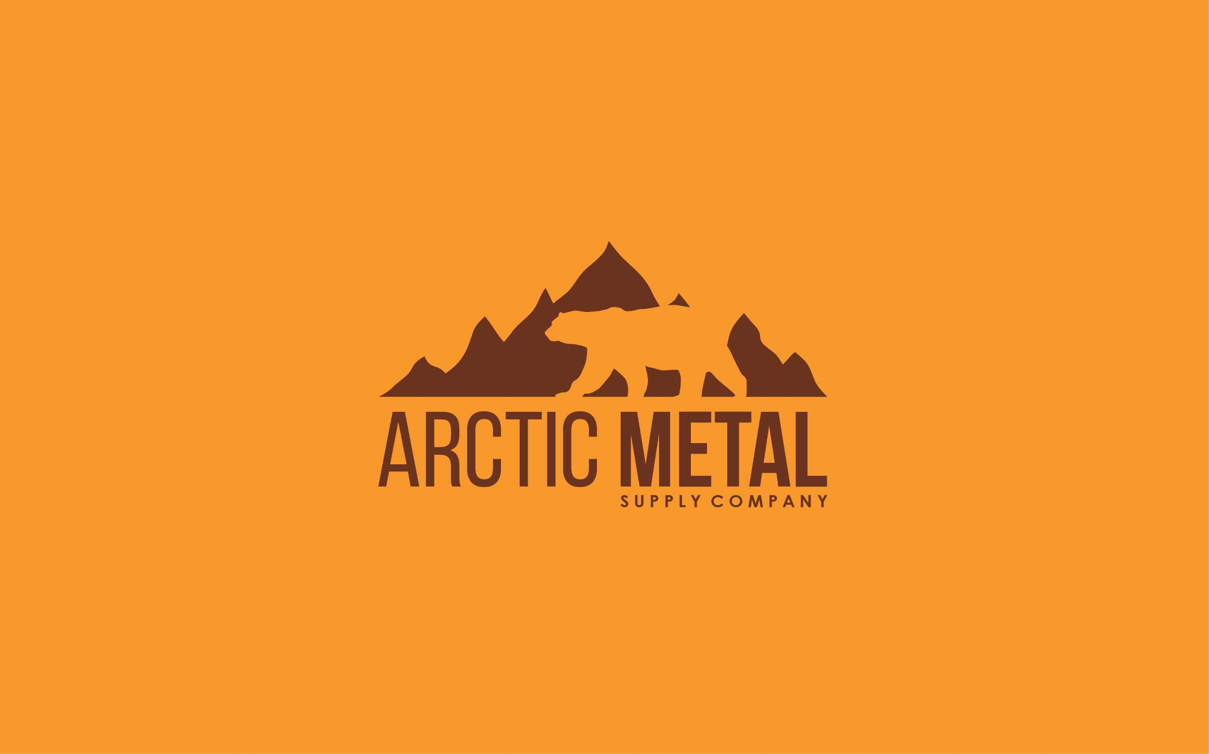 Jourjious Design - Artic Metal logo.