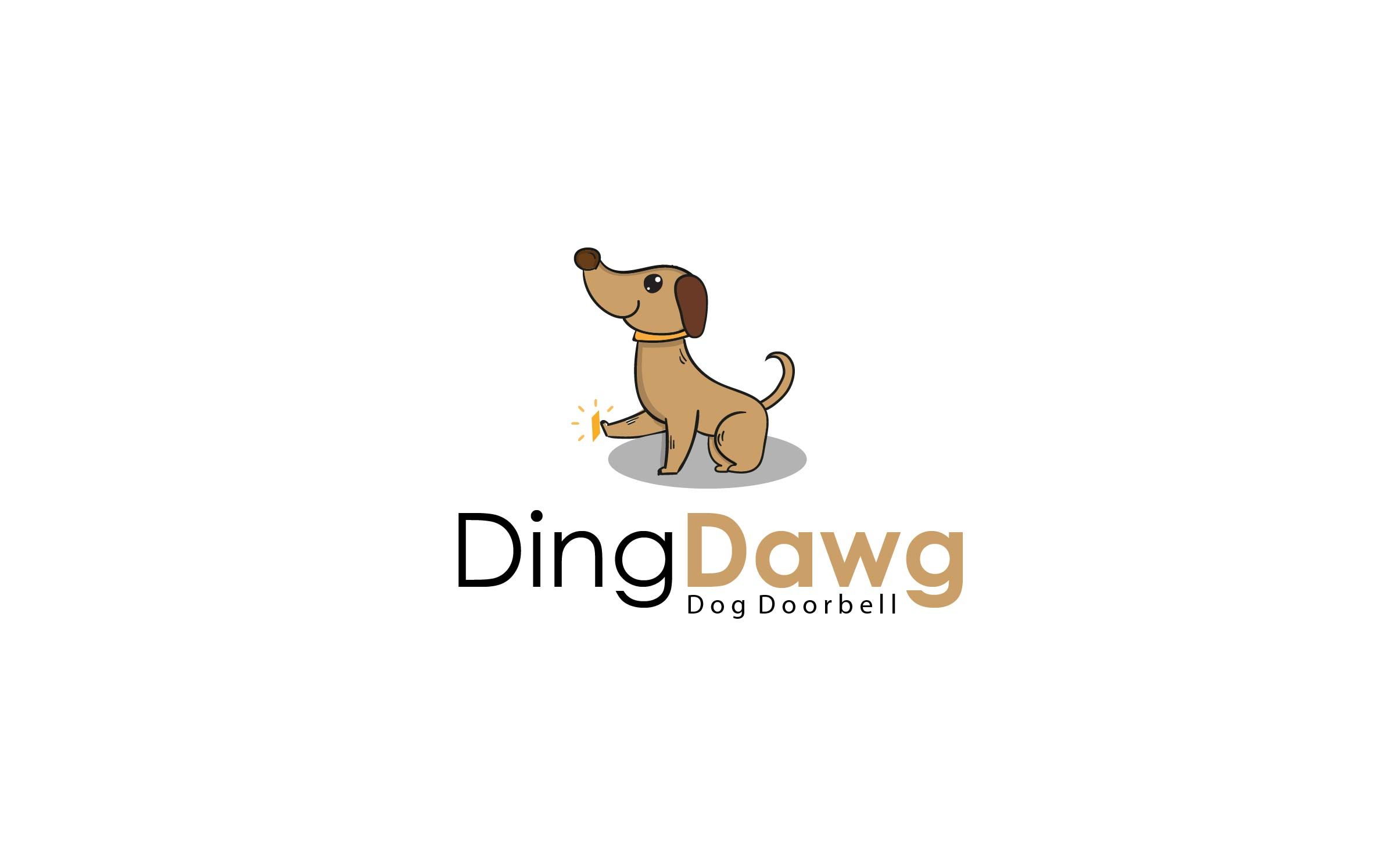 Jourjious Design - DingDawg logo.