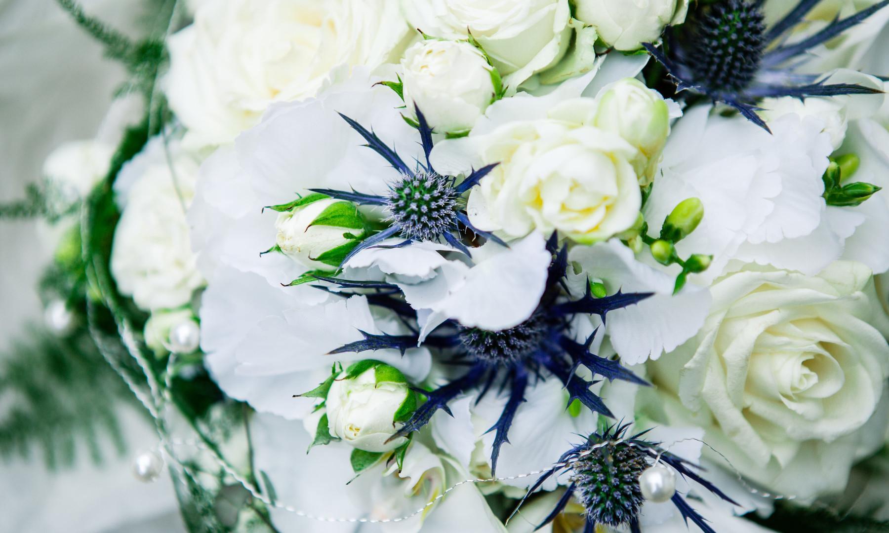 Beautifully Elegant Bridal Bouquet