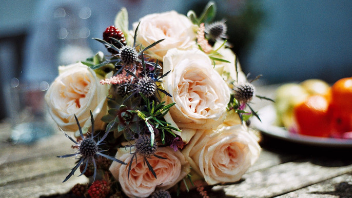 Late Summer Tied Bouquet