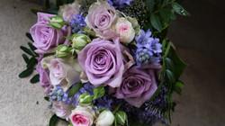 Tied Bridal Bouquet