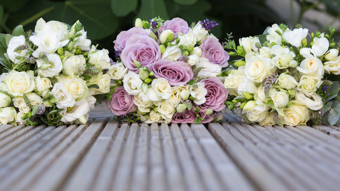 Bride and Maid's Posies