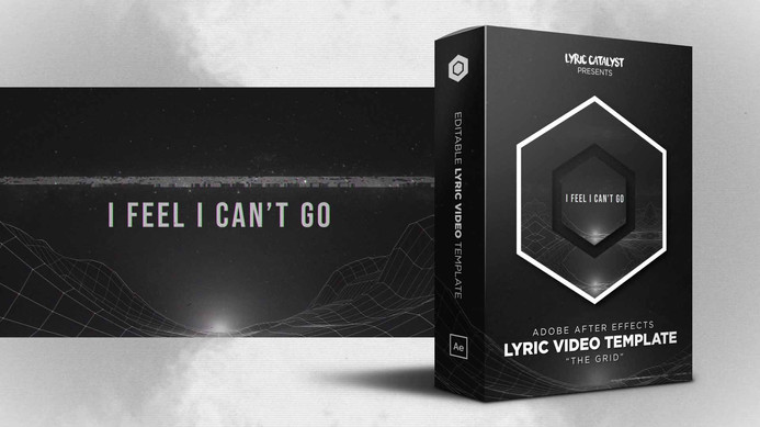 Free Lyric Video Template After Effects.