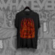 """Kiváló minőségű, fekete színű, kerek nyakú póló FÉRFI kivitelben. Elején a DFW zenekar """"Ennyi Volt"""" című dalához kapcsolódó illusztráció található. Piros színű, kopás és mosás álló szitanyomással készült. Anyaga: 90%pamut, 10% elasztán. Enyhén sztreccs."""