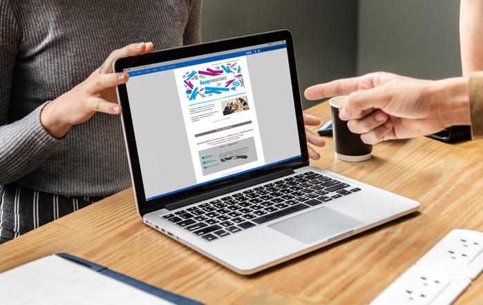 Création de supports digitaux