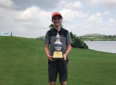 Aksel wins True Visions International Junior Golf Championships