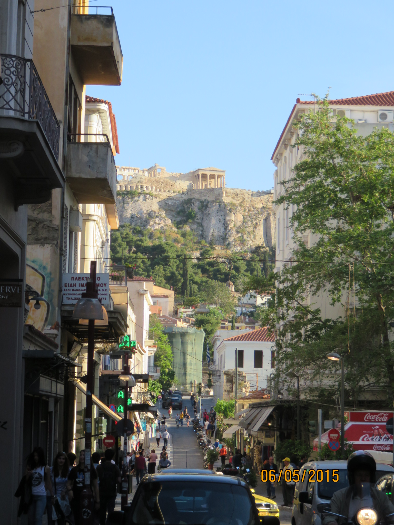 Acropolis from Flessa St