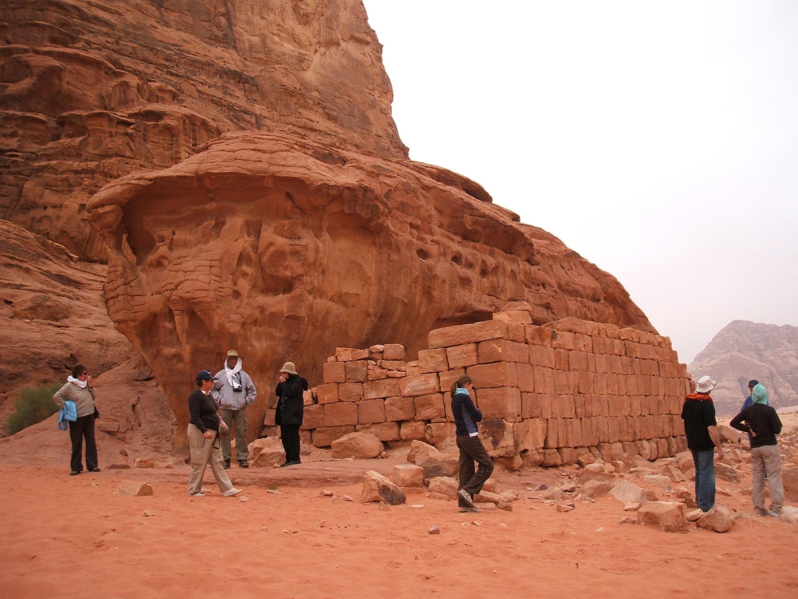 Wadi Rum Lawrence of Arabias House