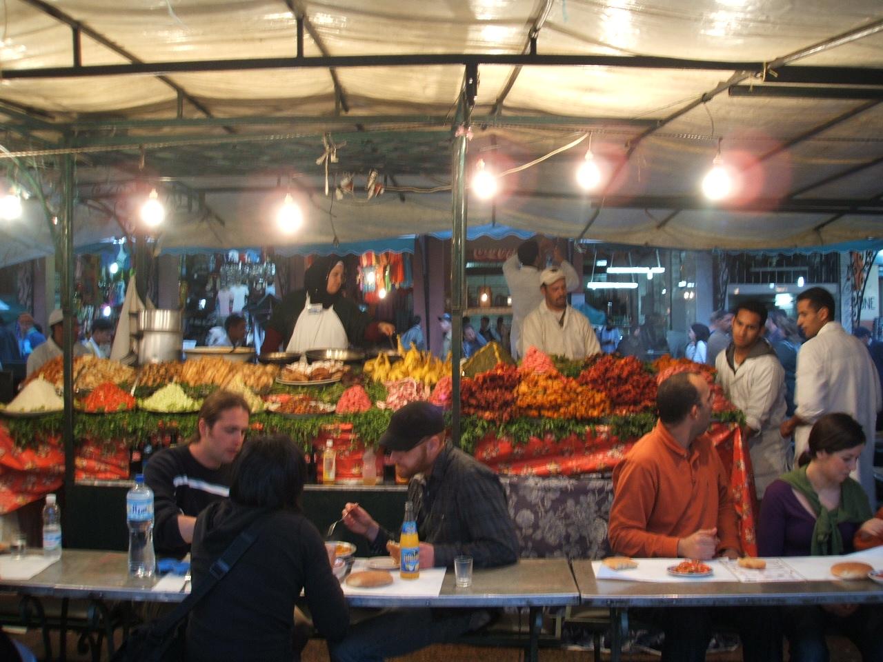 Djeema el Fna - No 1 food stall