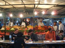 Djeema el Fna - No 1 food stall
