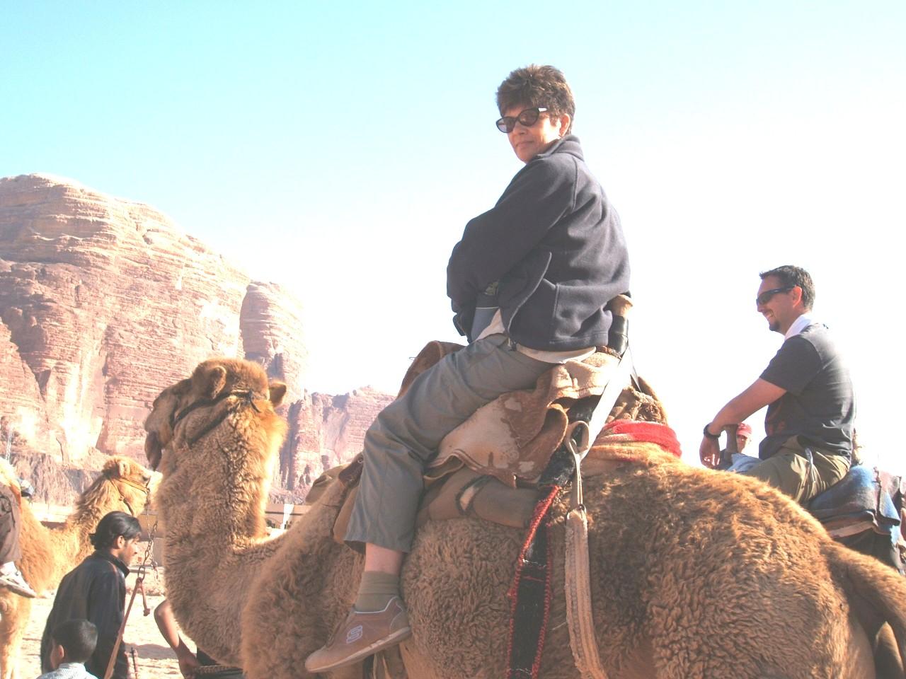 Wadi Rum At Visitors Centre No looking back now