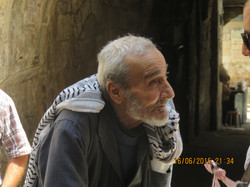 Old man in Nablus